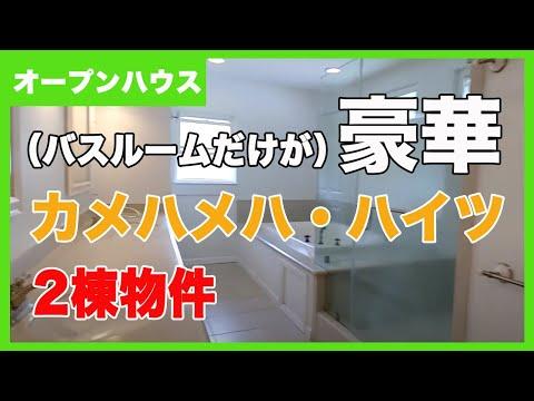 カメハメハハイツの2棟物件:バスルームが豪華過ぎる