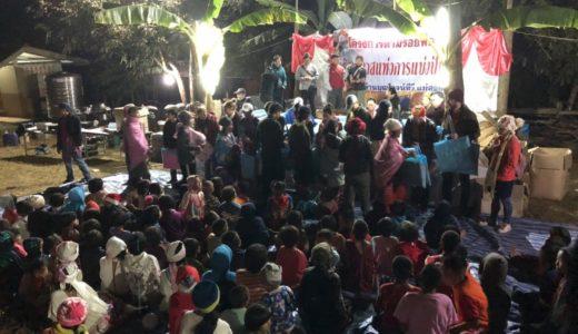 タイでの8回目のボランティア活動